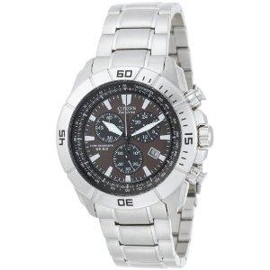 西铁城Citizen AT0810-55X 男款钢带光动能手表