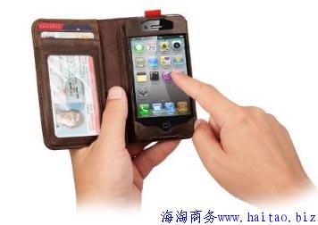 5合一 iphone 4s 手工皮套