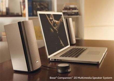 Bose Companion 20桌面音箱$224